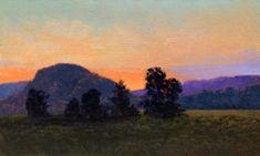 "Catskills Plein Air 3 - 3"" x 5"" by Mikel Wintermantel, Copley Master - Luminous Landscape Paintings"