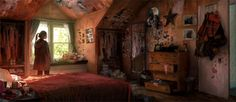 Concept Arts do game The Last of Us