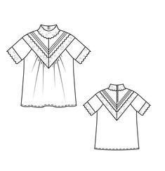 4e18a87b729 Блузка - выкройка № 137 из журнала 3 2013 Burda – выкройки блузок на