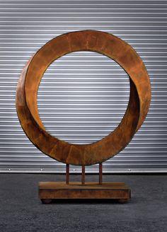 The steel sculpture Torrent