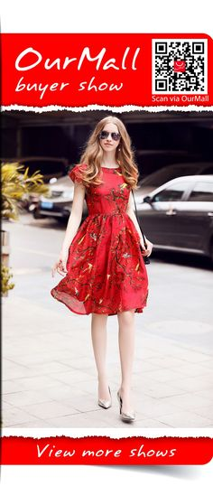 floral red dress   #dress #dressbridesmaid #dresswedding #mididress #dresscute #floraldress #sundress #stripedress #sexydress #elegantdress