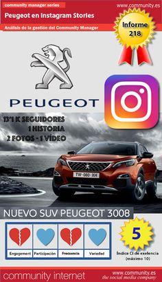 Peugeot acelera poco a poco en #InstagramStories. Análisis del servicio de #CommunityManager: http://www.community.es/social-media/peugeot-acelera-poco-a-poco-en-instagram-stories/