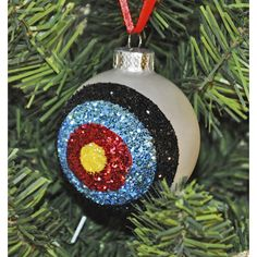 Different ornaments to choose from. This beautiful handmade Archery target Christmas Ornament is a unique addition to your holiday decor, and a keepsake to be cherished forever.