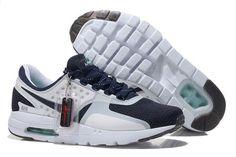 wholesale dealer b7896 f6e35 Mens Womens Nike Air Max Zero 87 Midnight Navy White Obsidian - Air Max ·  Cheap SneakersCheap ShoesShoes ...