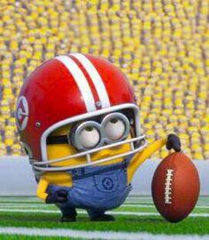 Football player minion