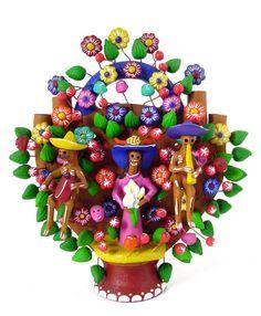 El árbol de la vida, artesanía mexicana