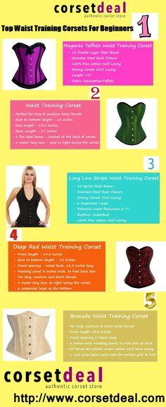 Top Waist Training Corsets For Beginners