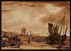 Joseph Mallord William Turner 'Scene on the French Coast', c.1806–7