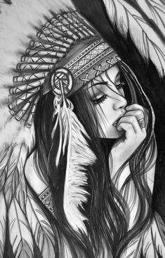 Peinture dessin noir et blanc a imprimer exemple en photo de dessin indienne