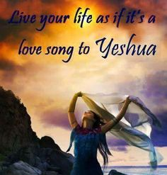 Live your life as if it's a love song to Yeshua. Live your life filled with praise and worship to glorify Him! Worship Dance, Praise Dance, Worship The Lord, Praise The Lords, Worship Songs, Daughters Of The King, Daughter Of God, Bride Of Christ, Prophetic Art