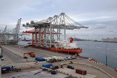 Port of Rotterdam ECT Delta Terminal cranes BIG
