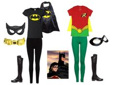 Batman & Robin - Costumes for TWO