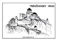 Trenčiansky hrad Diy And Crafts, Paper Crafts, World Thinking Day, Bratislava, Xmas Tree, Nursery, Education, Park, School