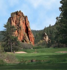 Beautiful Perry Park Country Club in Larkspur - Nestled among the towering pines and  impressive outcroppings, this course is all Colorado!