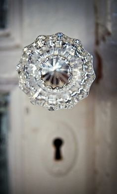 crystal doorknobs