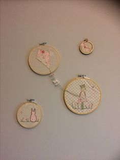 Girls embroidery