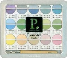 The Stampin' Place - Decorating Chalks: Pastels, $14.99 (http://www.stampin.com/stamp-supplies/decorating-chalks-pastels/)