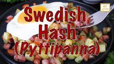 Swedish Hash (Pyttipanna) is tasty, filling and ready in no time. An easy potato hash recipe that's one of those 'breakfast for dinner' dishes -- you would surely be making this regularly! Potato Hash Recipe, Scandinavian Recipes, Breakfast For Dinner, Dinner Dishes, Potatoes, Tasty, Lunch, Potato, Eat Lunch