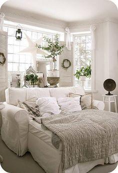 ikea ektorp sofa + 2(ektorp ottoman) = squishy living room lovin'!