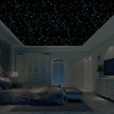 Realistic Domed Glow in the Dark Dots for Starry Sky, Perfect For Kids Bedding Room stars) (Blue) >>> Check out the image by visiting the link. (This is an affiliate link and I receive a commission for the sales)