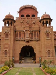 Lakshmi Nivas Hindu Palace - Home of Maharaja Ganga of Bikaner, Rajasthan - Hinduism architecture, India ॐ