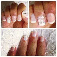 My wedding nail art!!!