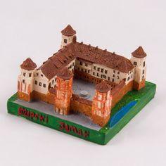 Collectible Miniature House: Belarus. Mir Castle Complex