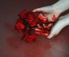 Aesthetic, alternative, and bloody image Red Aesthetic, Character Aesthetic, Aesthetic Images, Blood Art, Lady Macbeth, Arte Obscura, Merian, Dark Fantasy, Dark Art