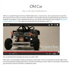 http://www.onemindstorm.com/2011/09/om-car/