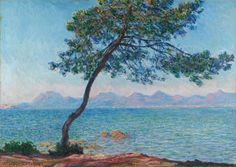 Antibes, 1888. Claude Monet