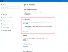 Creators Update Build 15031 in Fast ring for PC Introduces Dynamic Lock