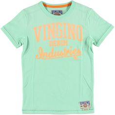 T-Shirt Jos Mint Green | Vingino | Daan en Lotje https://daanenlotje.com/kids/jongens/vingino-t-shirt-jos-mint-green-001373