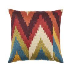 Weave | CASSIA CUSHION Warwick Fabrics, Satin Fabric, Upholstery, Weaving, Cushions, Iron, Colours, Throw Pillows, Embroidery