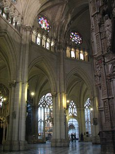 Inside Cathedral of Toledo - Spain