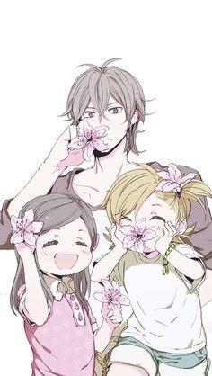 Sensei, Hina, and Naru Barakamon, All Anime, Anime Art, Annoying Kids, Cute Wallpapers, Phone Wallpapers, Manga Comics, Anime Shows, Anime Style