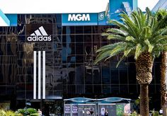 SHOP AT: The adidas store on the strip, near MGM Grand