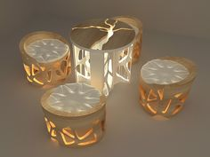 Tree root furniture on Behance