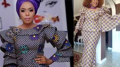 Ankara Jumpsuit, Ankara Skirt And Blouse, Long Ankara Dresses, African Print Dresses, Peplum, Ruffle Blouse, Sewing For Beginners, Ankara Styles, Latest Fashion
