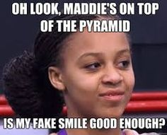 Awwww poor nia!! Maddie is always on top and sometimes she doesn't deserve it.
