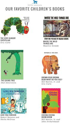 Little Unicorn's favorite children's books
