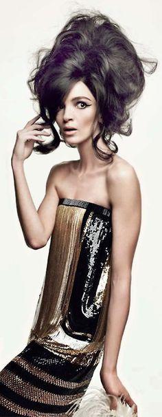 Mariacarla Boscono by Patrick Demarchelier for Vogue Italia v