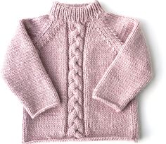 "Fiche Kids Tricot Pull ""Mauli girl"" de 2 à 8 ans - Baby Cardigan Knitting Pattern Free, Baby Boy Knitting Patterns, Knitting For Kids, Pullover Design, Sweater Design, Baby Sweaters, Crochet Clothes, Barn, Ravelry"