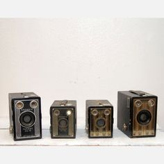 Kodak Box Camera Collection I, $154, now featured on Fab.