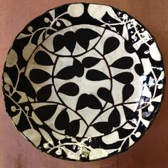 Black and white and read all over #ceramics #pottery #ooakchicago #chicagoartgirls #handmade #plates