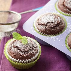 Chocolate-Ginger Cupcakes - Diabetic Friendly