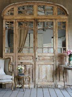 Hergebruik van oude Franse bouwmaterialen