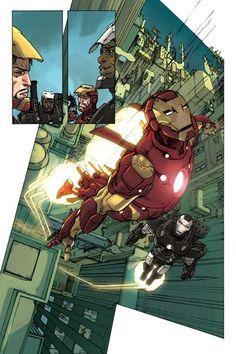 Iron Man & War Machine - Carmine Di Giandomenico