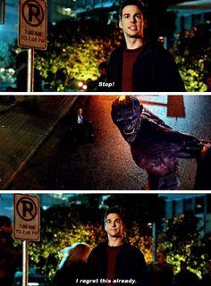 """I regret this already"" aka me as a superhero- Mon-El #Supergirl"
