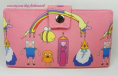 Handmade Clutch Adventure Time