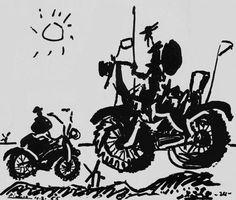 Le Don des Marolles - Make Brussels Picasso Don Quixote, Man Of La Mancha, Dom Quixote, Impossible Dream, Epic Art, Grand Designs, Silhouette Art, More Fun, Images